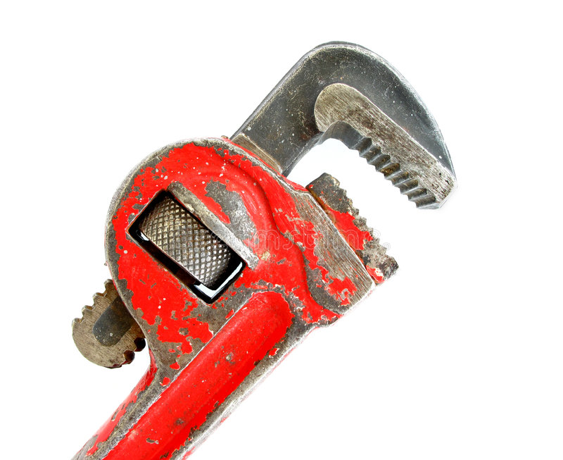 Download Wrench stock image. Image of white, grooves, hand, adjustable - 9200935