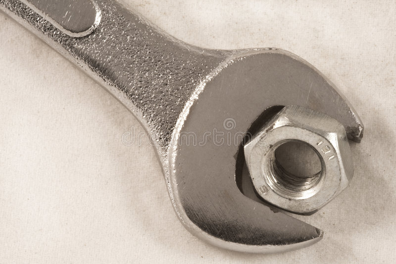 Download Wrench Nut Stock Photos - Image: 7325803