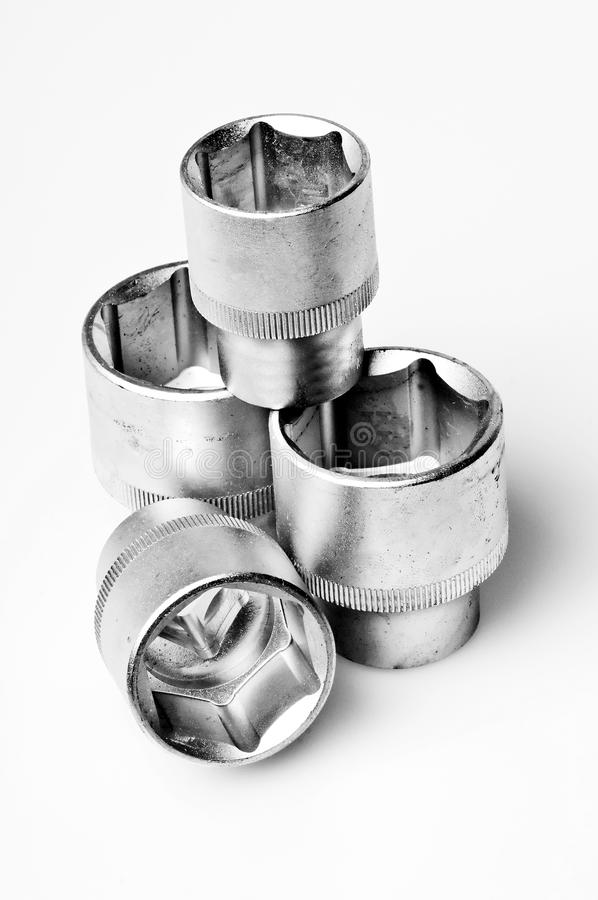 Wrench socket royalty free stock photo