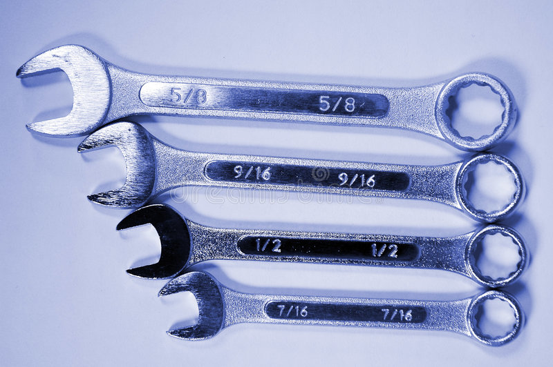 Wrenches-4 photographie stock