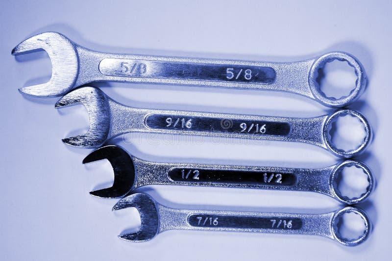 Wrenches-4 stockfotografie