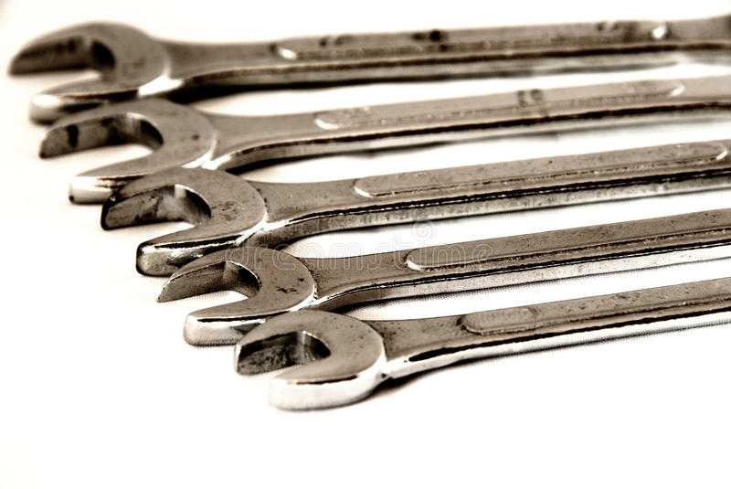 Download Wrenches On Line Stock Images - Image: 13299714