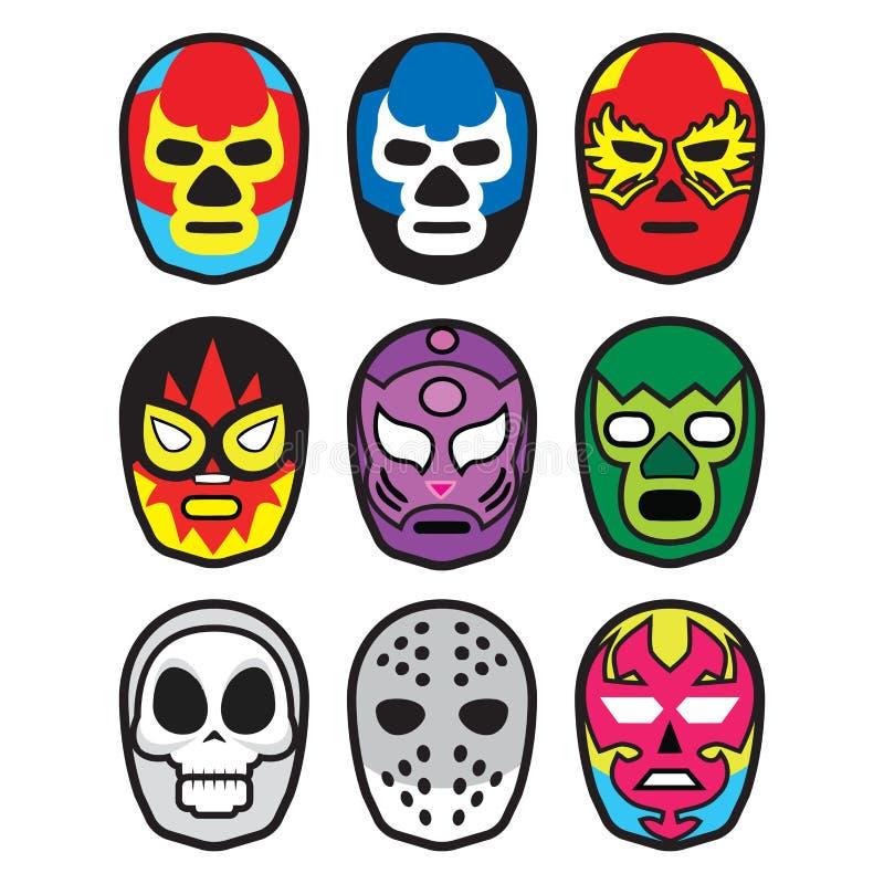 Wrestling маски бесплатная иллюстрация