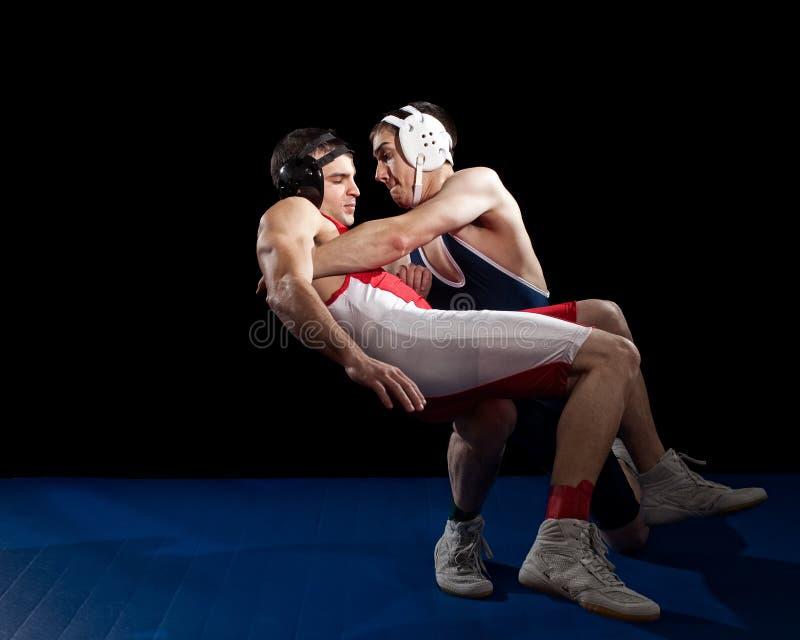 Download Wrestling стоковое фото. изображение насчитывающей студия - 17623082