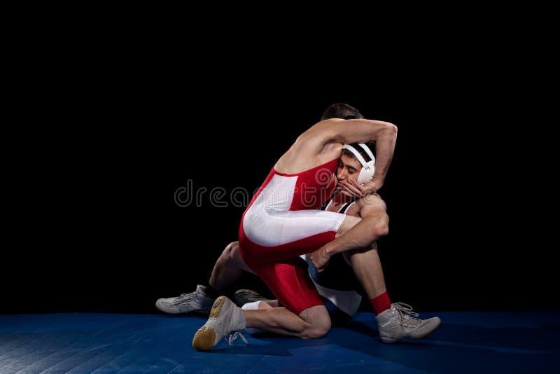 Wrestling foto de stock royalty free