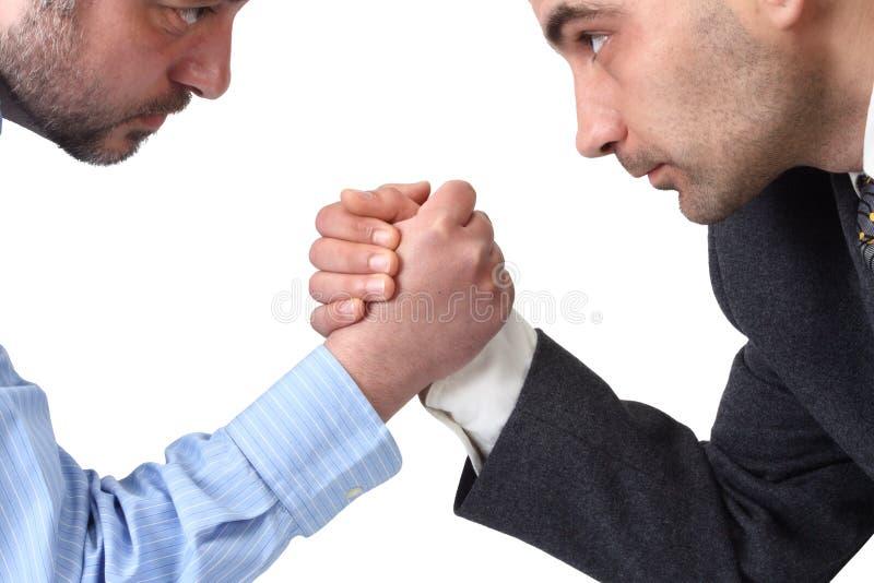 Wrestling de braço imagem de stock royalty free