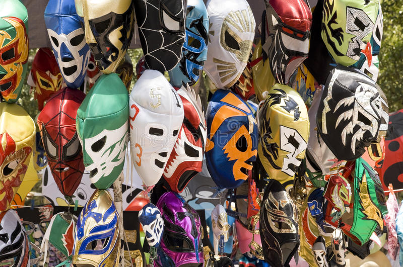 Download Wrestling Masks stock photo. Image of mask, wrestler - 13839716