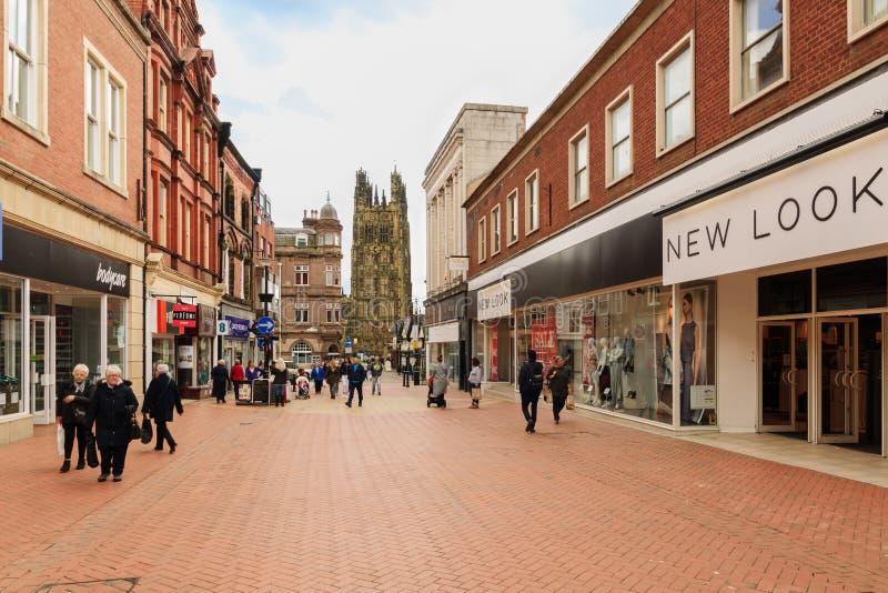 Wrexham-Stadt Wales lizenzfreie stockfotos