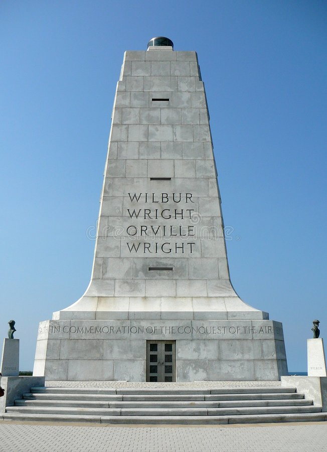 Wright-Brüder Erinnerungs stockfoto