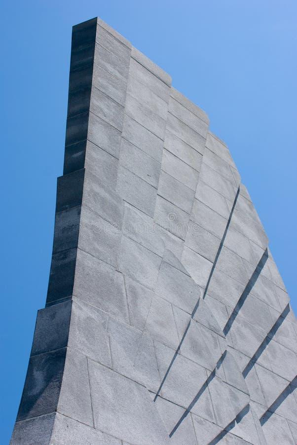 Wright braci Krajowy pomnik w kiciunia jastrzębiu Pólnocna Karolina zdjęcia royalty free