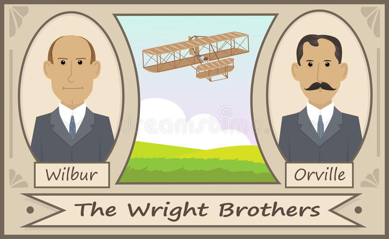 Wright Brothers libre illustration