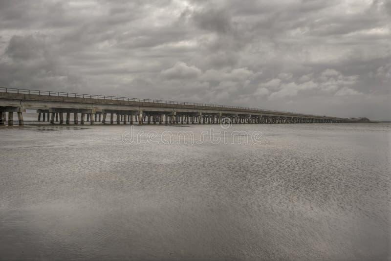 Wright Memorial Bridge royaltyfria bilder