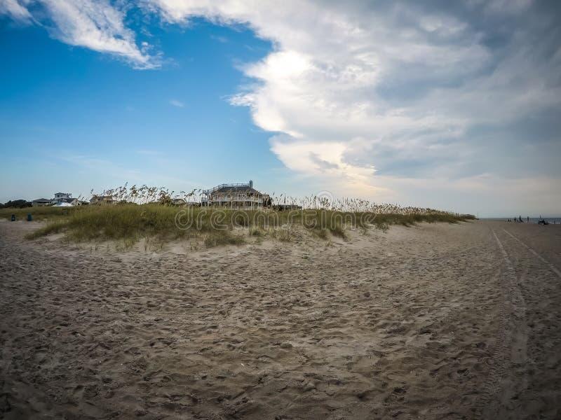 Wrightsville beach in north carolina royalty free stock image