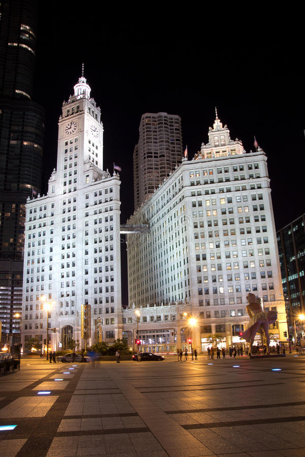 Download Wrigley Building editorial photography. Image of building - 21176912