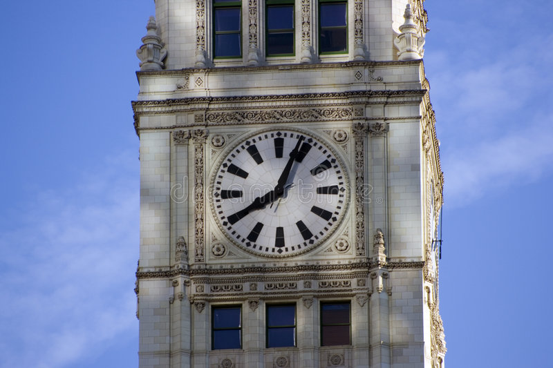 Download Wrigley Building In Chicago Stock Image - Image of building, holiday: 4520155