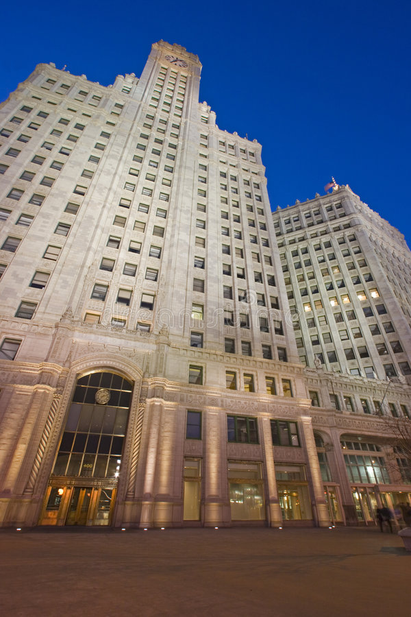 Wrigley Building in Chicago royalty free stock images