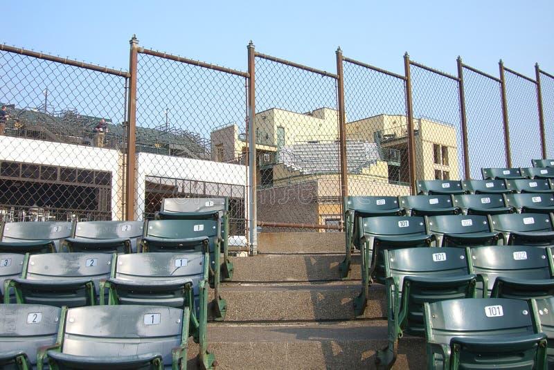 Wrigley coloca - Chicago Cubs foto de archivo libre de regalías
