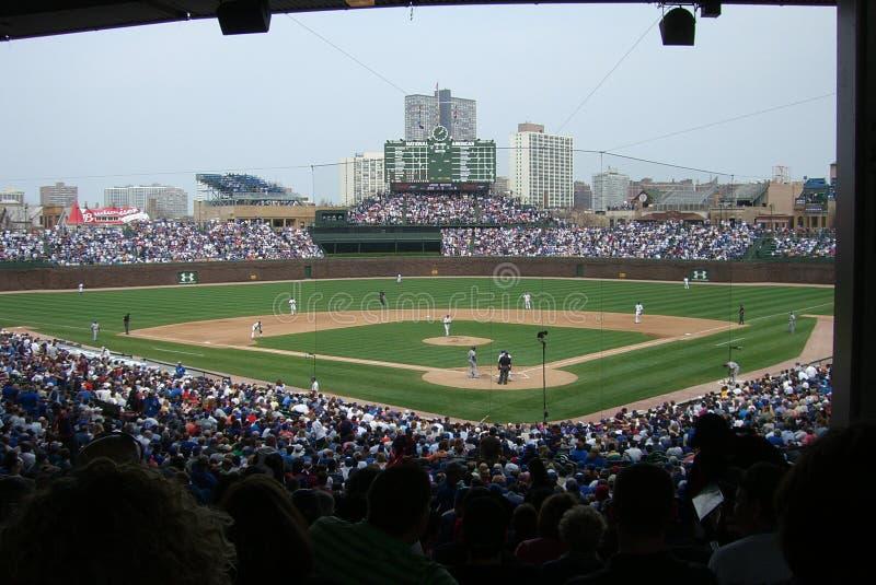 Wrigley sistema, Chicago fotografia stock libera da diritti