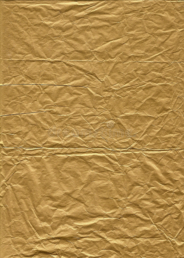 Download Wrinkled Gold Tissue Paper stock image. Image of holiday - 6692997
