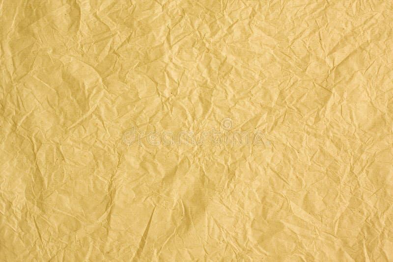 Wrinkled paper background textured royalty free illustration