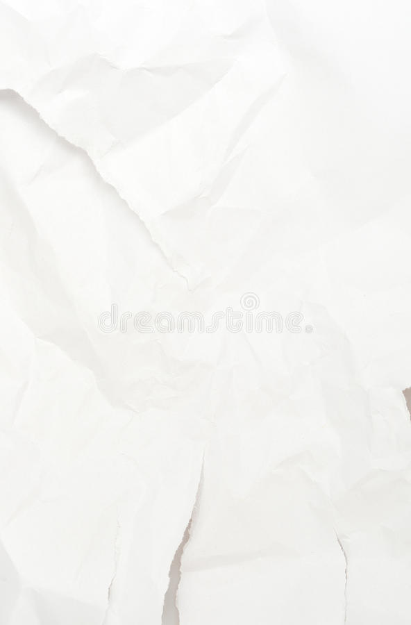 Wrinkled Paper royalty free stock photography