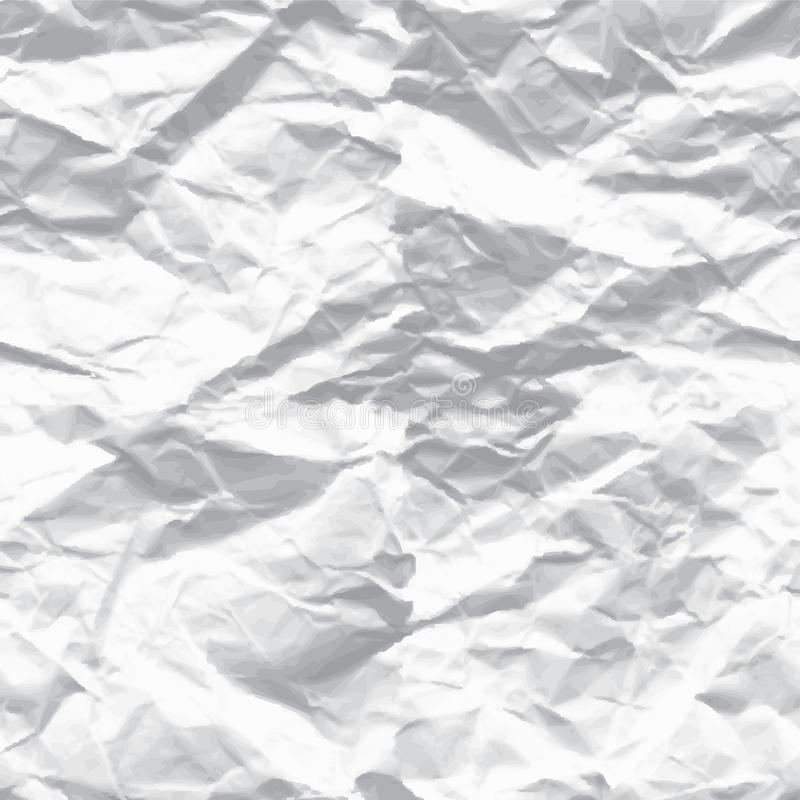 Wrinkled paper. Background abstract letter royalty free illustration