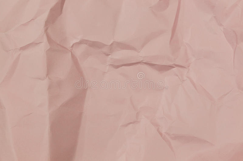 Wrinkled paper. Texture or background stock photo