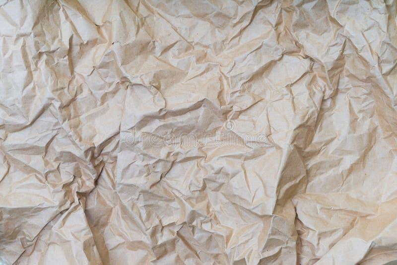 wrinkled paper texture or background stock illustration