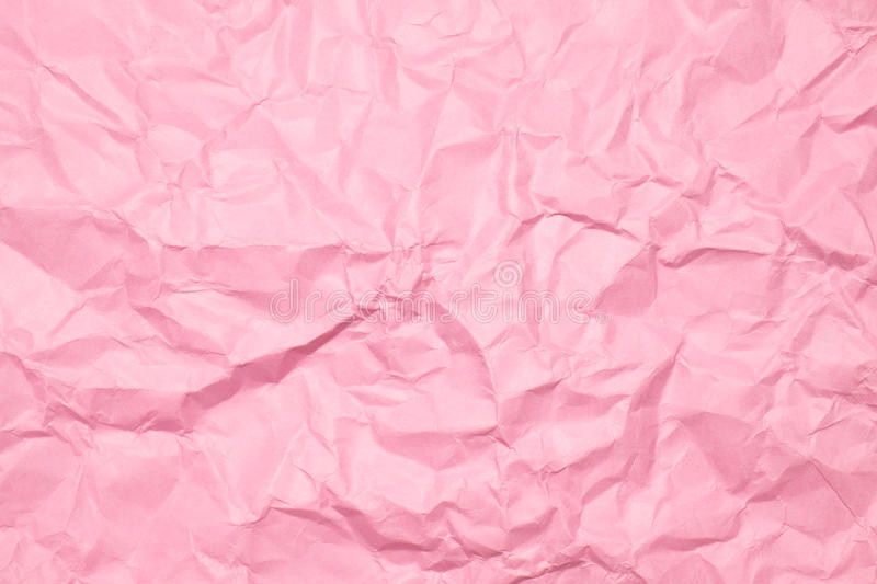 Wrinkled paper, used as background royalty free stock image