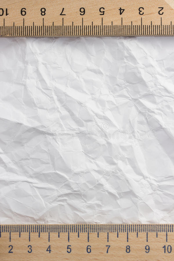 Download Wrinkled paper stock photo. Image of border, attach, school - 39503764