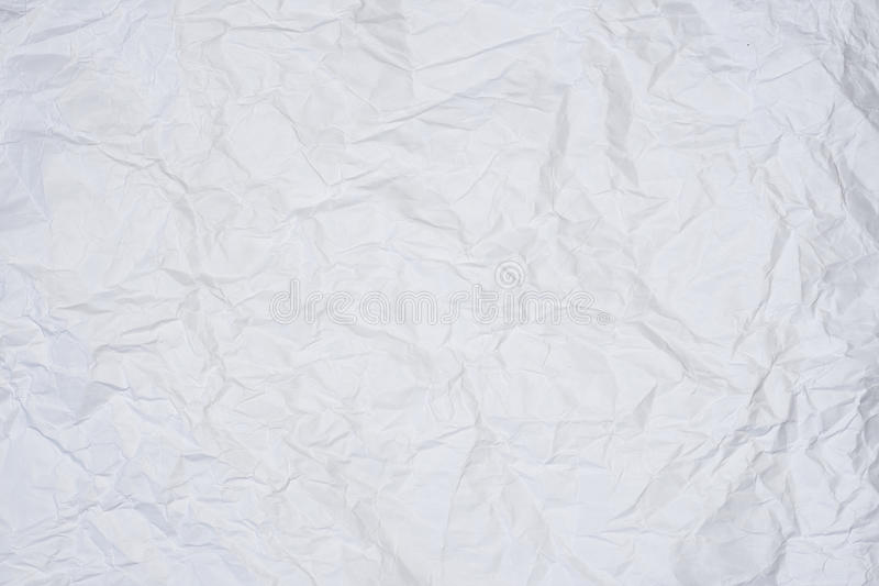 Wrinkled sheet of paper royalty free stock photos