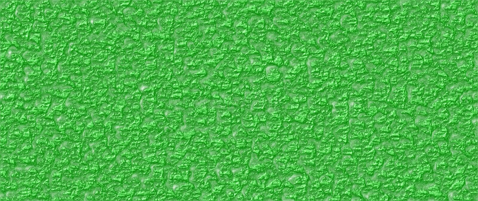 Rough background in wrinkled varnish style, green color. Wrinkled varnish rough background abstract vector graphic in green color. Can be used as standalone or vector illustration