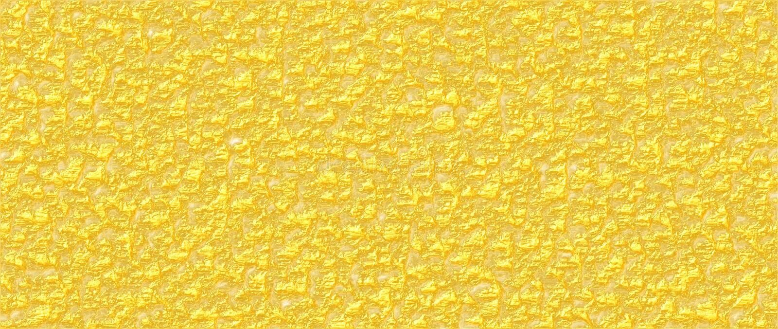 Wrinkled varnish rough background in yellow mango color. Wrinkled varnish rough background abstract vector graphic in yellow mango color. Can be used as vector illustration