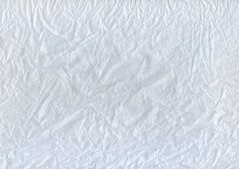 Download Wrinkled white cellophane stock photo. Image of bent, rough - 5267724