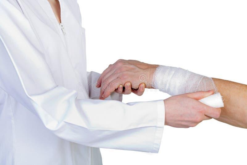 Wrist bandaging
