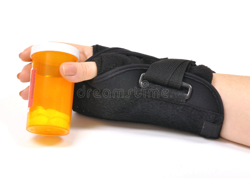 Download Wrist Brace stock photo. Image of painful, capsule, accident - 8082782