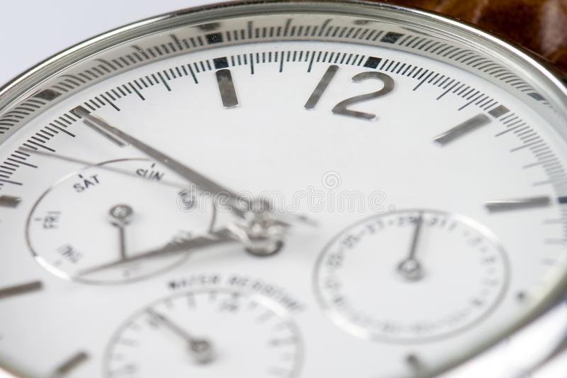Download Wrist watch 12 copyspace stock photo. Image of second - 7823152
