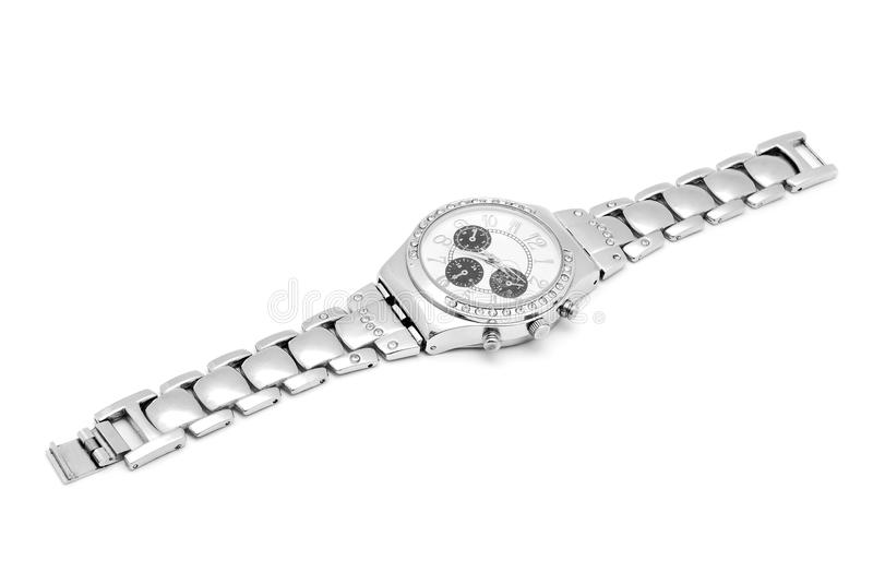 Download Wrist watch stock photo. Image of dial, diamond, background - 27325142