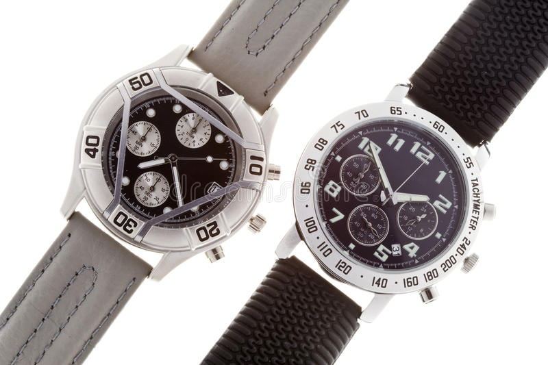 Wrist watches royalty free stock image