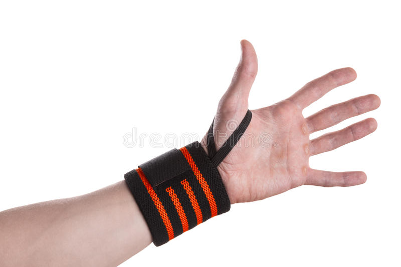 Wrist Wrap royalty free stock images