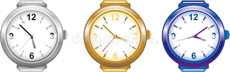 wristwatch διανυσματική απεικόνιση
