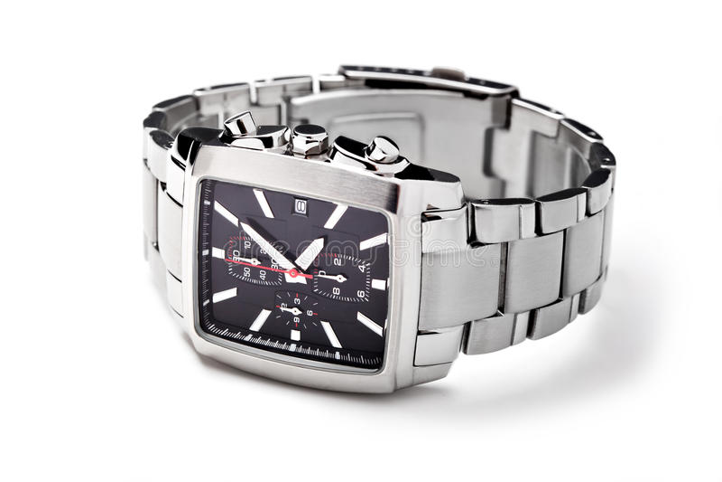Download Wristwatch obraz stock. Obraz złożonej z minuteman, zegar - 26282265