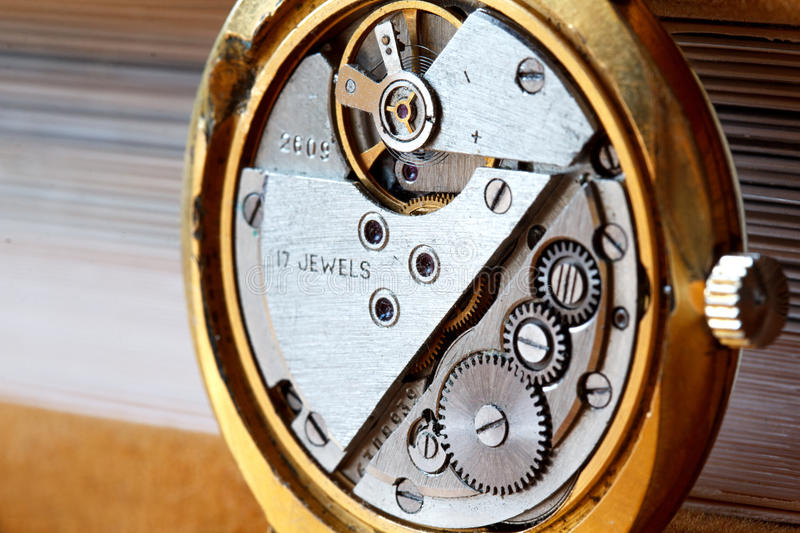 Download Wristwatch Gears Stock Photo - Image: 28365070