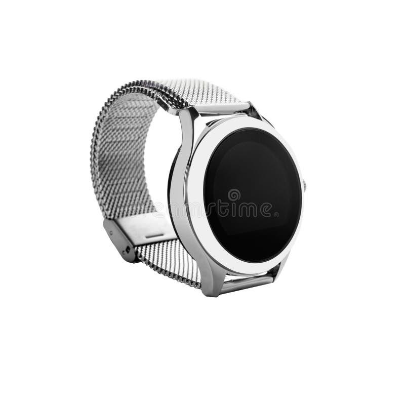 Wristwatch srebro zdjęcie stock