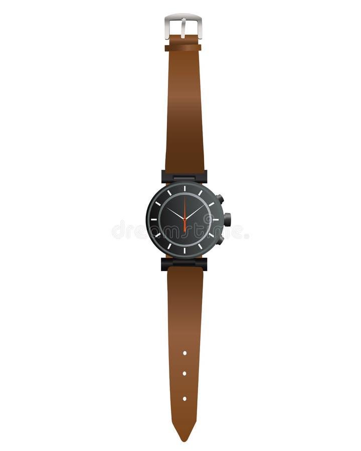 Wristwatch ilustracja wektor