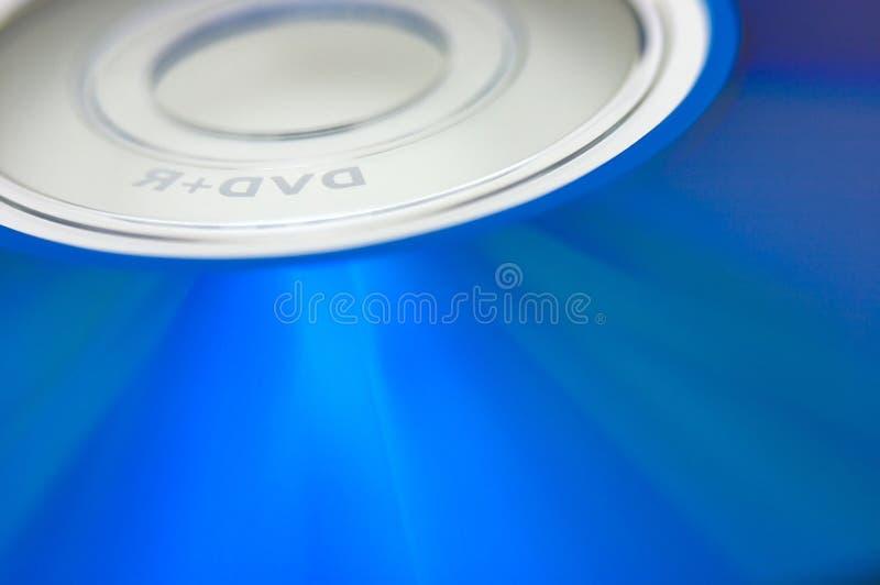 DVD blu immagini stock libere da diritti