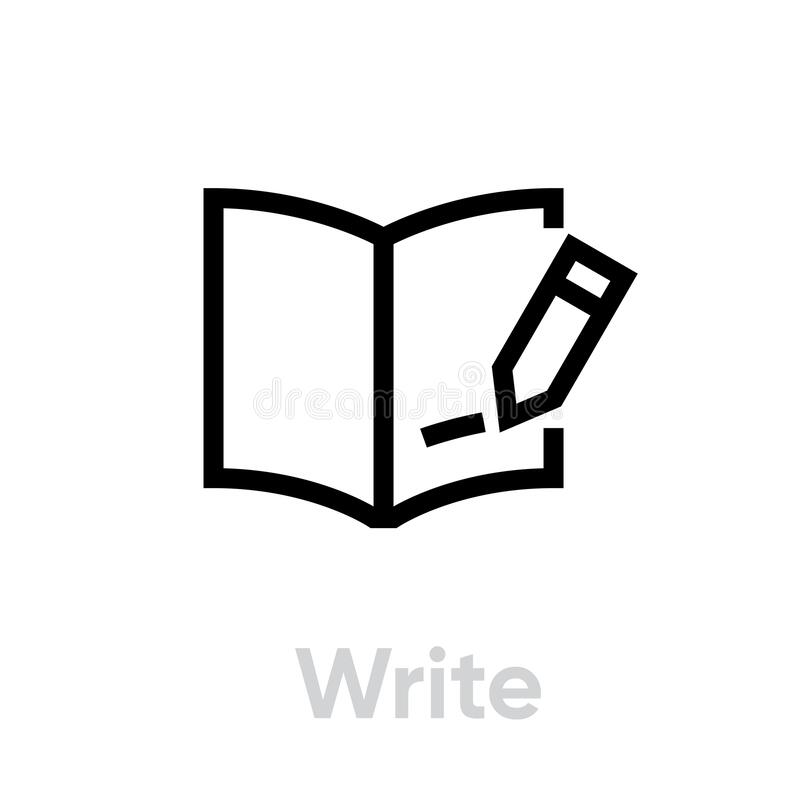 Image Result For English Writing And Reading Cartoon - Read Write Listen  Speak , Free Transparent Clipart - ClipartKey