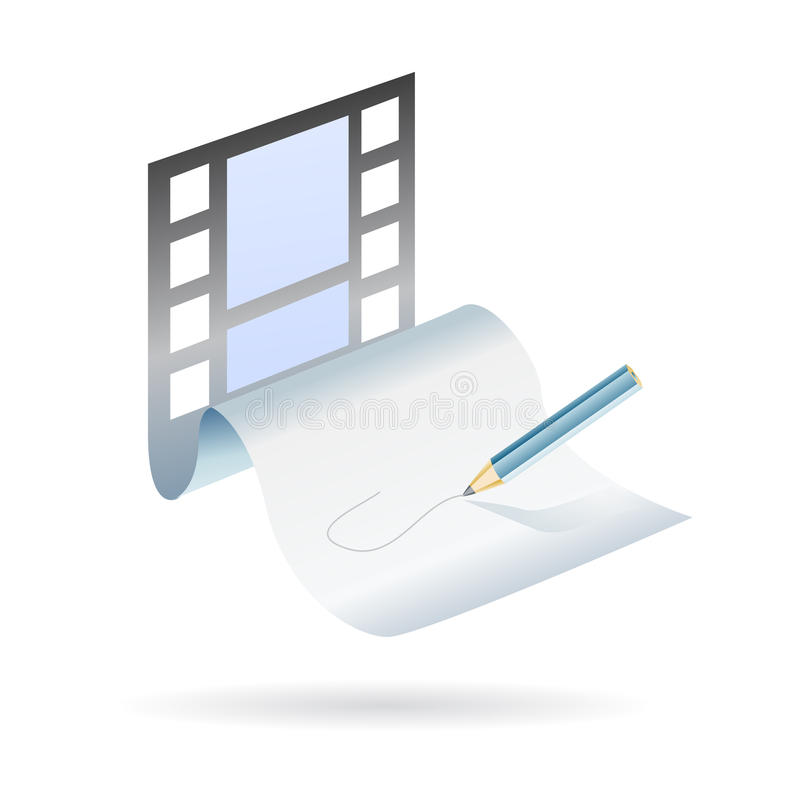 Download Write And Create A Movie Plot Royalty Free Stock Photo - Image: 14123125
