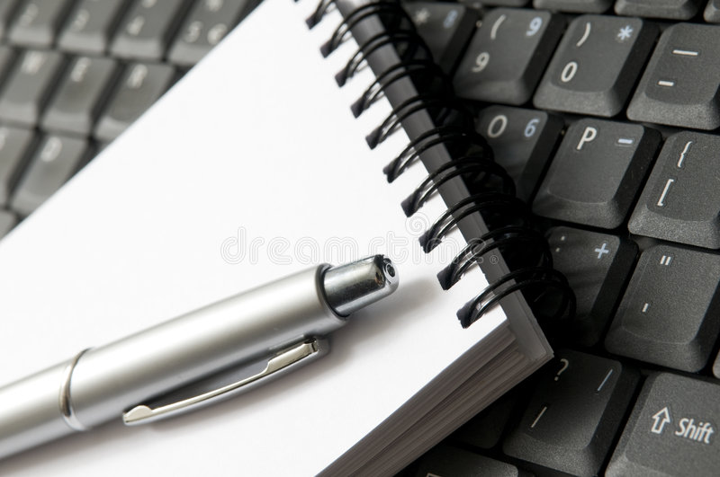 Download Write equipament stock image. Image of meeting, computer - 8453133