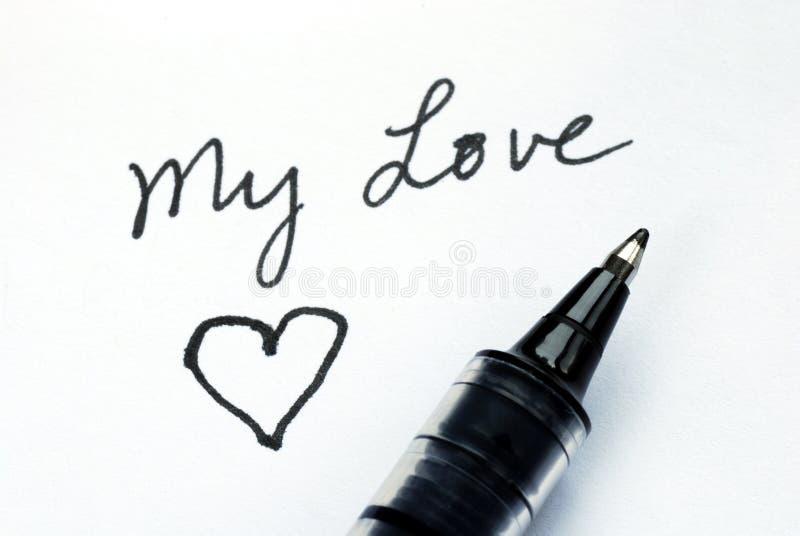 Write to my love one